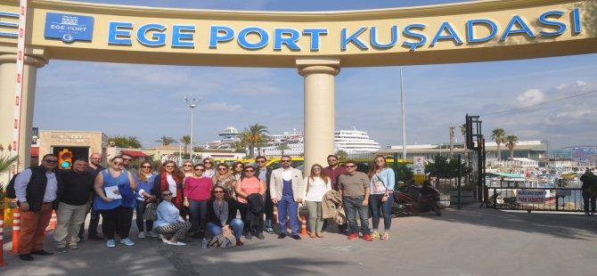 Akdeniz'in örnek kruvaziyer limanı: Ege Port