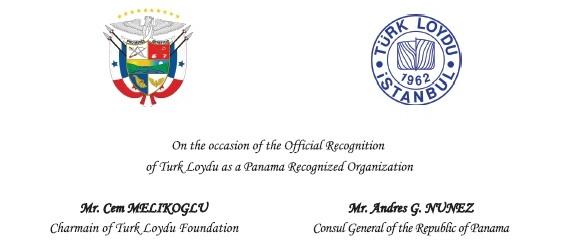 Türk Loydu, artık Panama gemilerinde de yetkili
