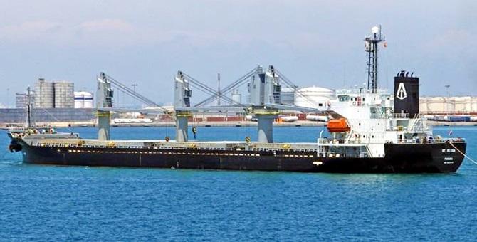 M/V SOTRA kuruyük gemisi Türk şirketine satıldı