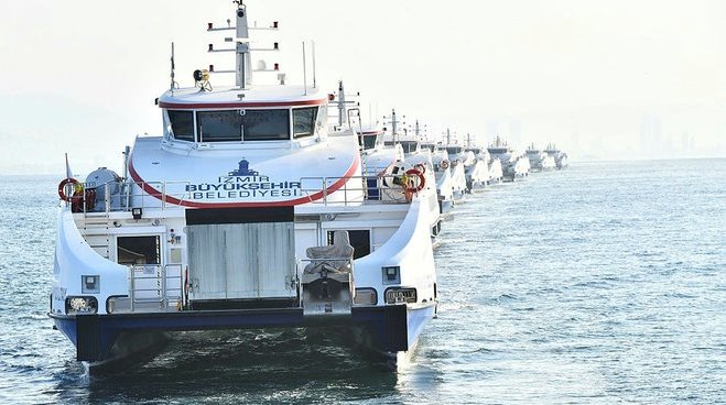 Aziz Sancar, Dario Moreno, Metin Oktay İzmir sularında