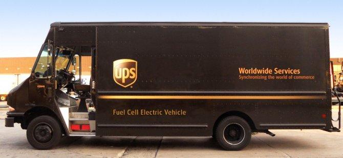 UPS, dizel kamyonları elektrik enerjiliye çeviriyor