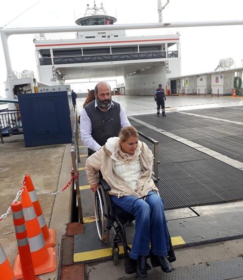 İDO, TOFD işbirliği ile gemilerinde engelleri kaldırıyor