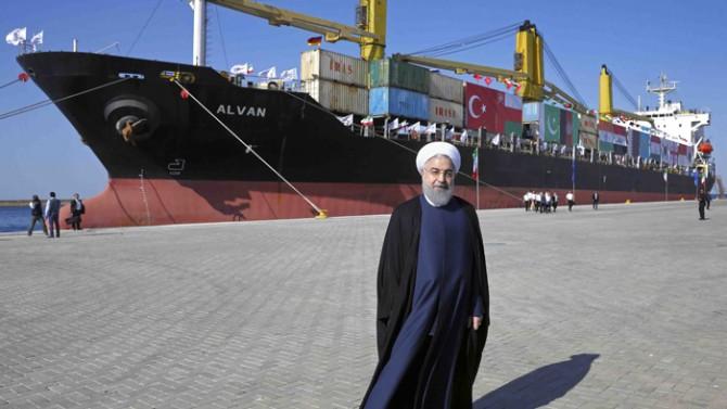 İran, 1 milyar dolarlık limanını açtı