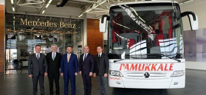 Pamukkale, filosuna 7 adet daha Mercedes-Benz Tourismo kattı