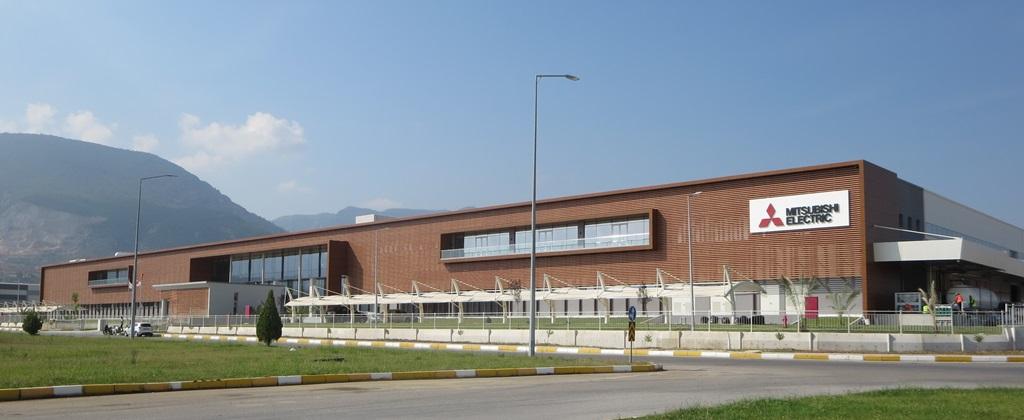 Mitsubishi, Manisa'da klima üretimine başlıyor