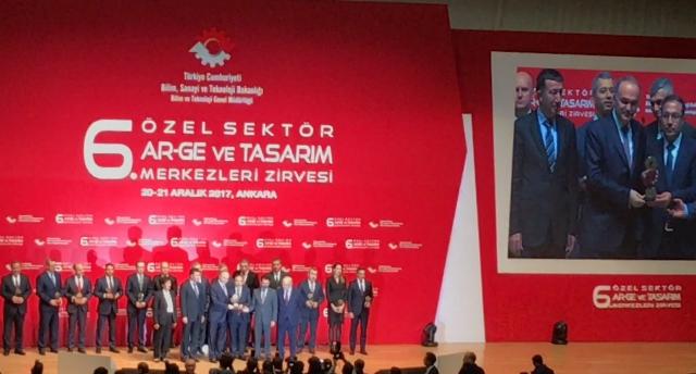 TIRSAN'a Sanayi Bakanlığı'ndan 1.cilik ödülü