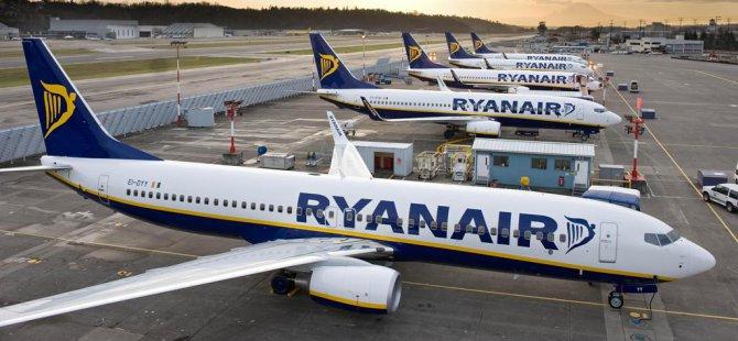 Almanya'da Ryanair pilotları greve gidiyor