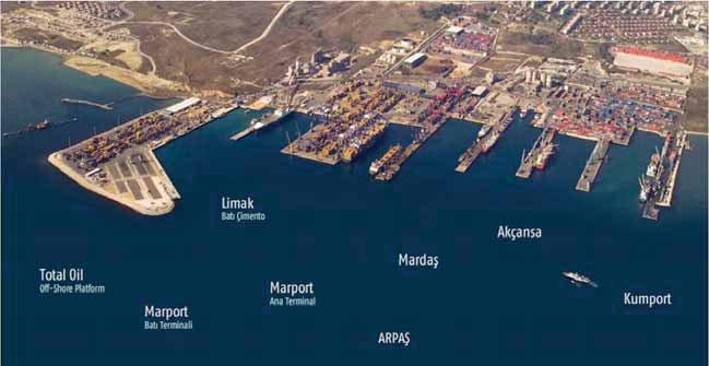 En fazla aranan limanlar Ambarlı ve Cebel Ali