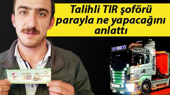 5 milyon TL TIR şoförüne çıktı