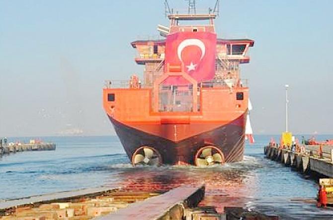 Cemre Tersanesi'nden bir gemi ihracı daha