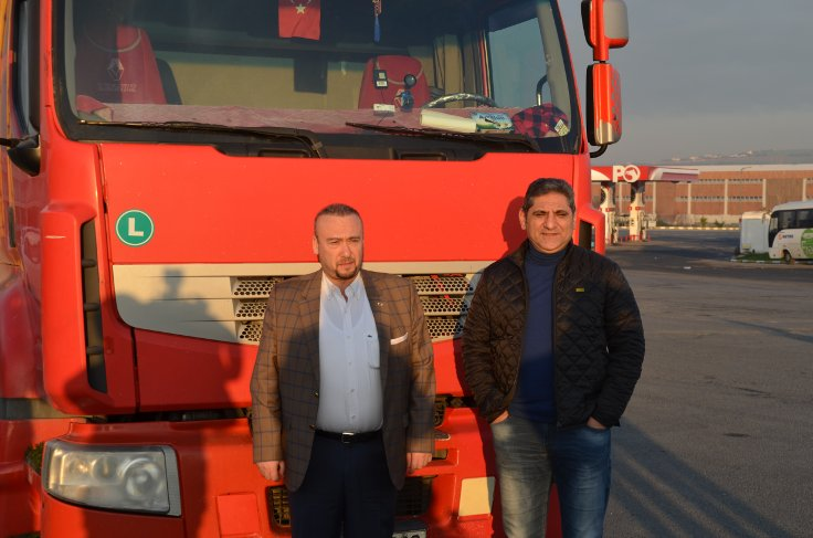 CHP'li vekiller TIR sürerek Ankara'ya gidiyor