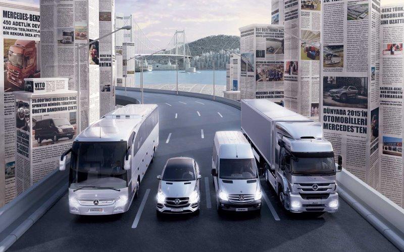 Mercedes-Benz Türk'ten global başarılar geldi