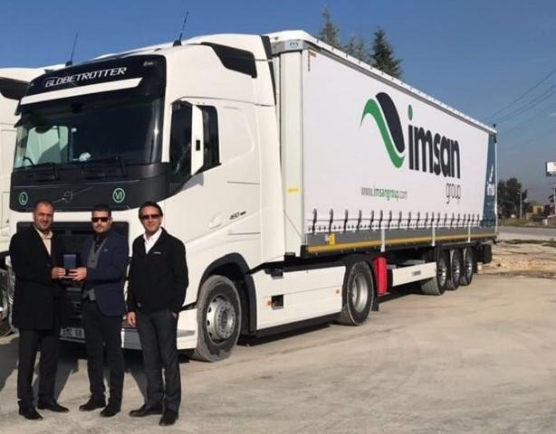 İmsan Group, 5 Volvo Trucks satın aldı