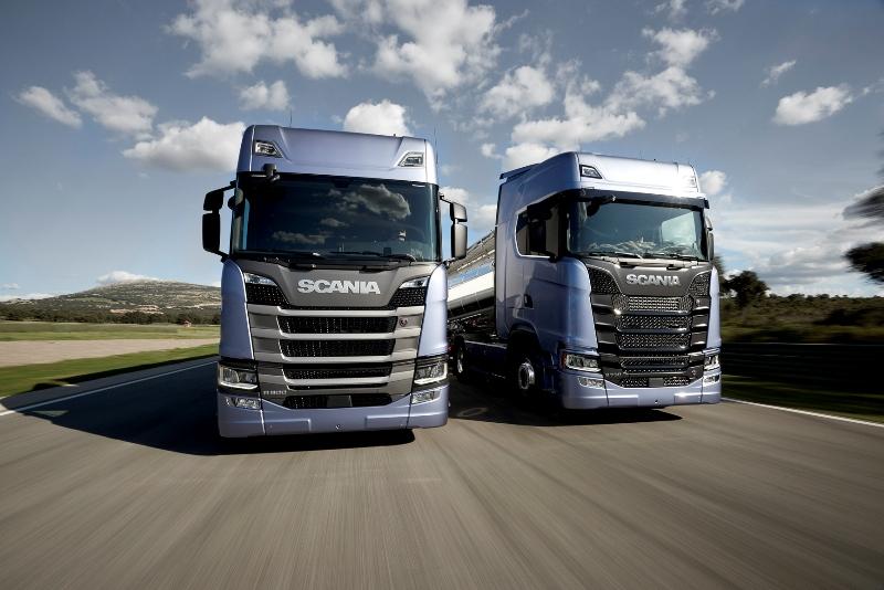 Scania, yeni araçlarıyla 2018'de daha güçlü