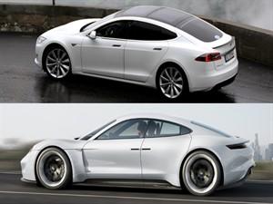 Tesla'ya rakip Porsche'den geliyor