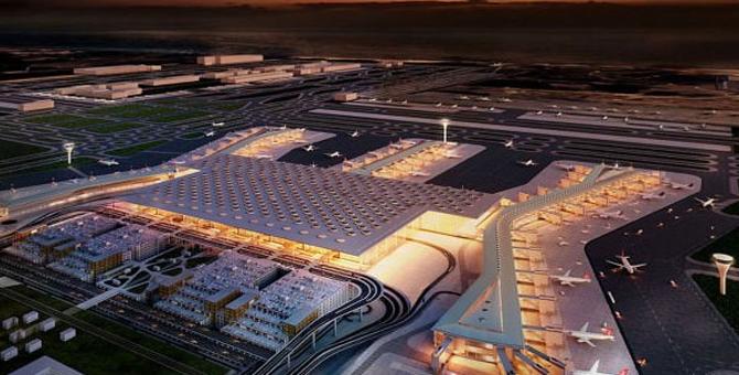 3. Havalimanı lojistik merkez olacak