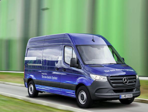 Mercedes-Benz eSprinter yolda!