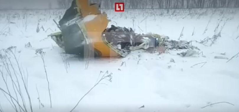 Rus yolcu uçağı düştü: Kurtulan yok