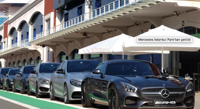 Mercedes İstanbul Park'tan çekildi