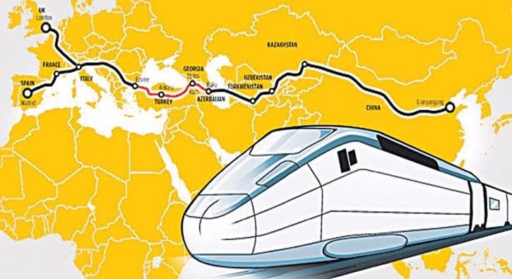 Yıllık 1 milyon ton yük Türkiye üzerinden taşınacak