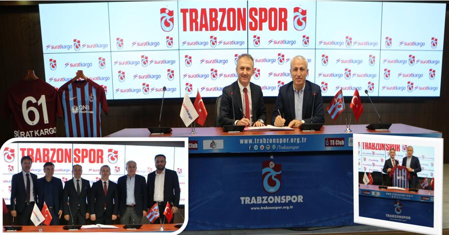 Trabzon Spor ve Sürat Kargo yeniden anlaştı
