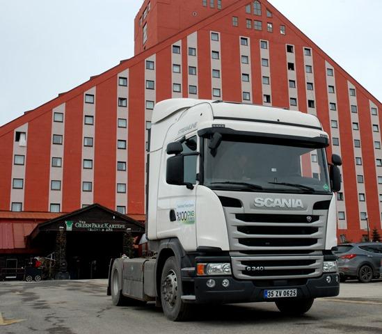 Scania, En Çevreci&Ekonomik aracını sergiledi