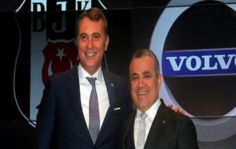 İsveçli otomotiv devi Beşiktaş'a sponsor oldu