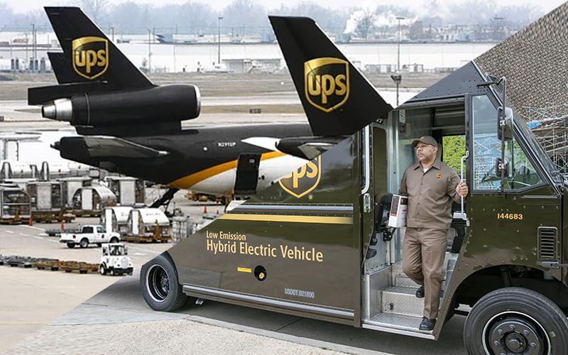 "UPS, ""paket hizmeti""ni 124 ülkeye genişletti"