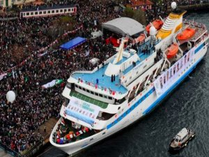 Mavi Marmara artık kamyon taşıyacak