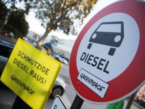 Almanya'nın iki şehrinde artık dizel araç yasak