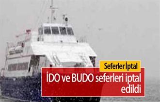 BUDO ve İDO'nun bazı seferleri iptal edildi