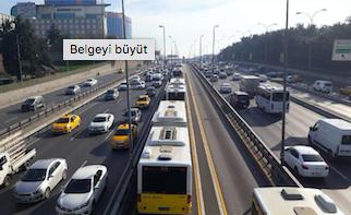 Yenibosna'da metrelerce metrobüs kuyruğu oluştu!