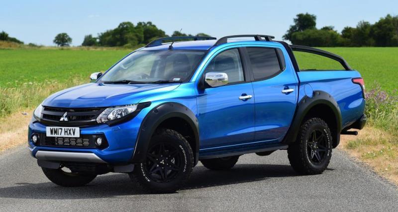 En çok satılan pick-up: Mitsubishi L200