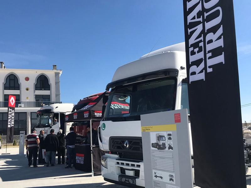 Renault Trucks, Ege'de turunu tamamladı