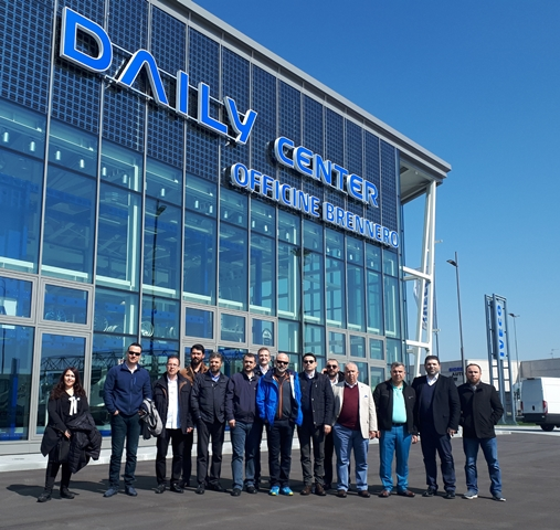 Iveco üst yapıcıları ve filo müşterileri İtalya'da
