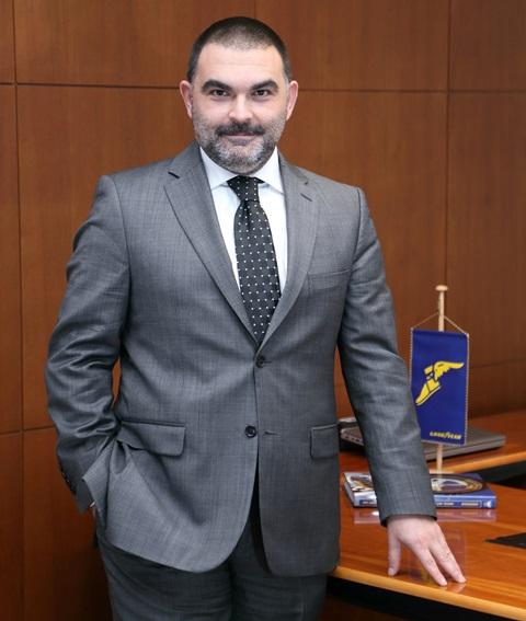 Goodyear T.A.Ş'ye yeni Genel Müdür