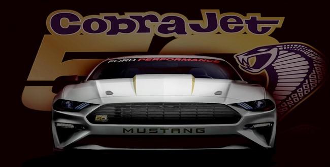 Ford 2018 Cobra Jet Mustang satışa çıkmaya hazırlanıyor