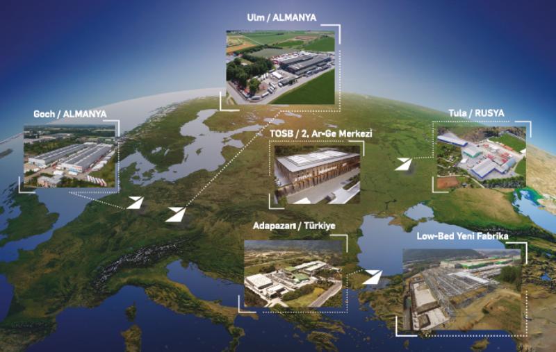 TIRSAN'dan Avrupa'nın en büyük low-bed tesisi