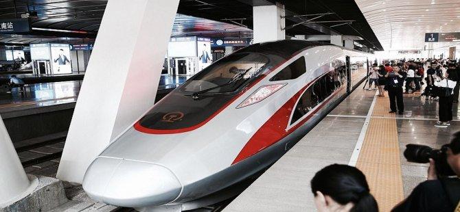 Çin hızlı trenlerde yapay zekayı test ediyor