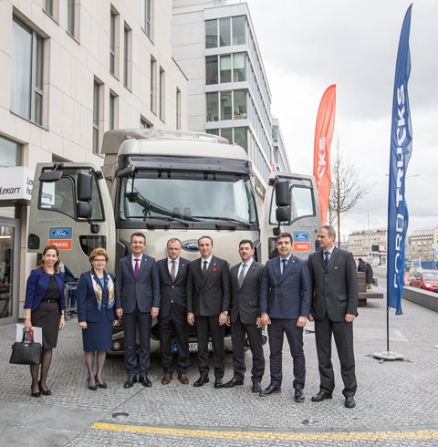 Ford Trucks'ın Slovakya'daki distribütörü Delta-Truck oldu