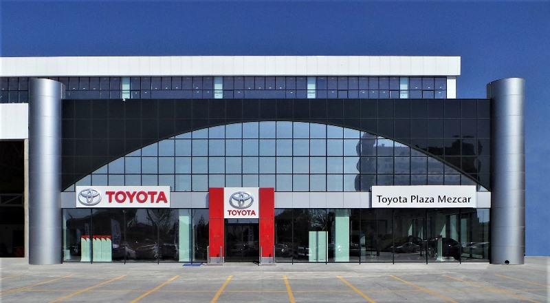 Toyota'nın yeni plazası Mezcar açıldı