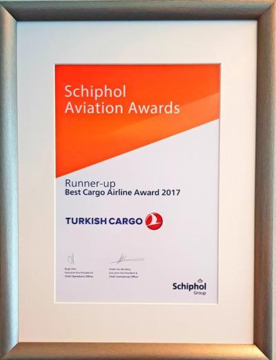 Turkish Cargo'ya Hollanda'dan ödül