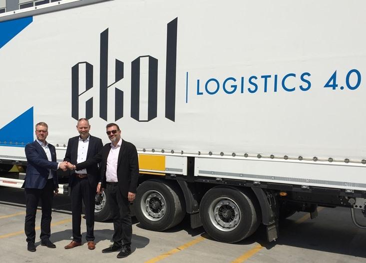 Ekol, Danimarkalı Blue Water Shipping ile iş birliği yaptı
