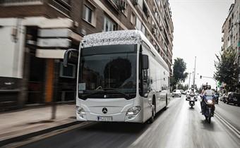Mercedes'in elektrikli otobüsü Citaro yola çıkmaya hazır