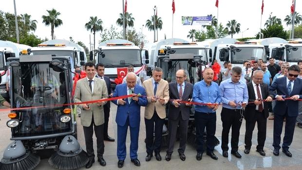 Mersin Belediyesi, araç filosunu genişletti
