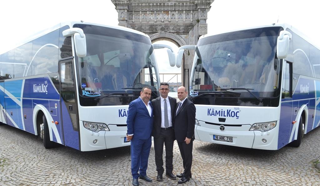 TEMSA'dan, Kamil Koç'a 26 adet Safir Plus