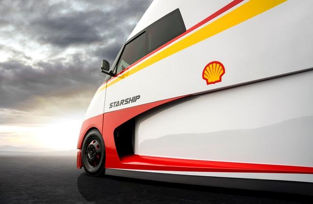 "ShellShell ve kamyon şirketi Airflow, ""Starship""i tanıttı"