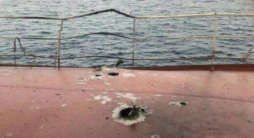Türk gemisine füze saldırısı