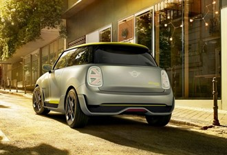 BMW'den elektrikli MINI Cooper!