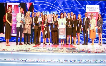 Fevzi Gandur Logistics, bir kez daha en iyi işveren seçildi!